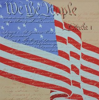 We the People 2002 Limited Edition Print - Steve Kaufman