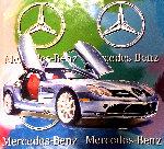 Mercedes Benz Sl Coupe - Multi Color 2005 Embellished Original Painting - Steve Kaufman