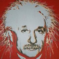 Einstein 44x35 Super Huge  Limited Edition Print by Steve Kaufman - 0