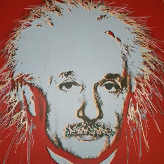 Einstein 44x35 Super Huge  Limited Edition Print - Steve Kaufman