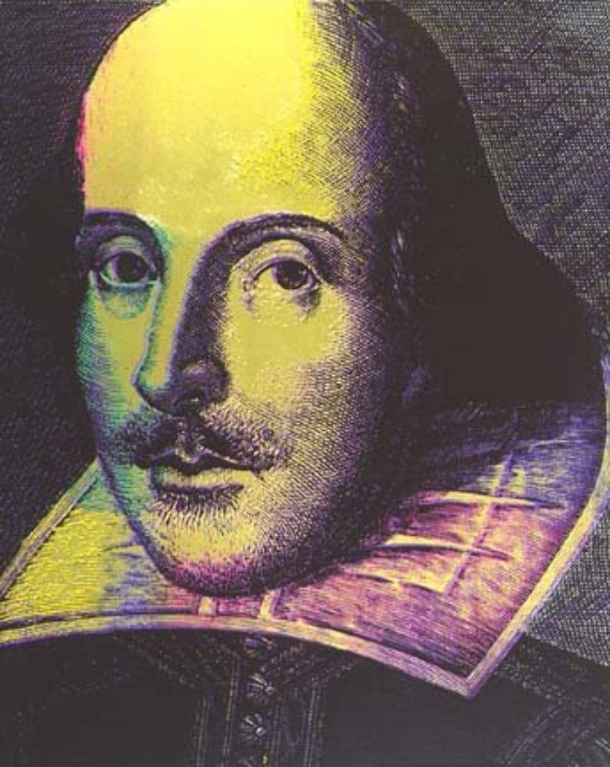 William Shakespeare State I 1996 Limited Edition Print by Steve Kaufman