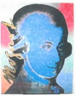 Homage to Genius: Mozart Limited Edition Print by Steve Kaufman - 1