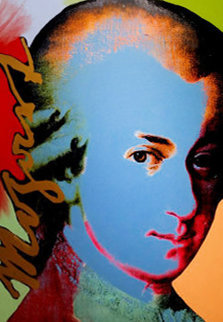 Homage to Genius: Mozart Limited Edition Print - Steve Kaufman