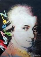 Homage to Genius: Mozart Limited Edition Print by Steve Kaufman - 0