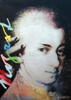 Homage to Genius: Mozart Limited Edition Print - Steve Kaufman