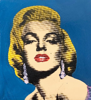 Pop Marilyn State II 2005 Limited Edition Print - Steve Kaufman