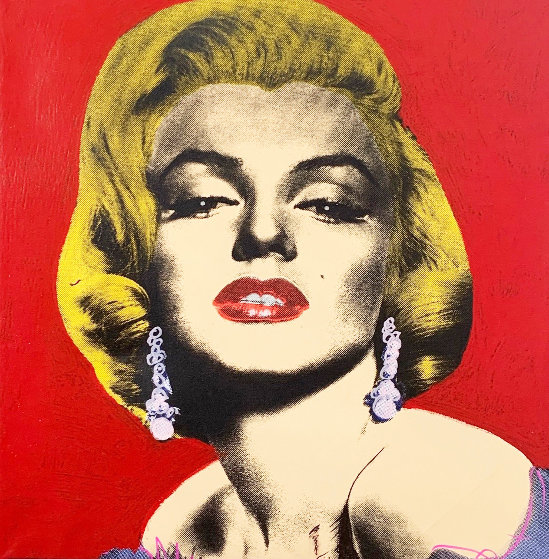 Pop Marilyn State  III 2005 Limited Edition Print by Steve Kaufman