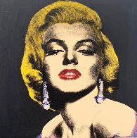Pop Marilyn State I   2005  Limited Edition Print by Steve Kaufman - 0