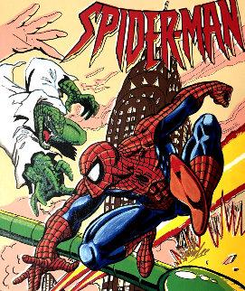 Spiderman 17x20 Limited Edition Print - Steve Kaufman