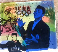 Ali Olympic AP 1996, HS Muhammad Ali Limited Edition Print by Steve Kaufman - 3