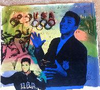 Ali Olympic AP 1996, HS Muhammad Ali Limited Edition Print by Steve Kaufman - 2