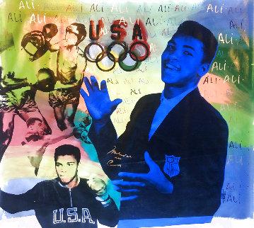 Ali Olympic AP 1996, HS Muhammad Ali Limited Edition Print - Steve Kaufman