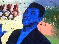 Ali Olympic AP 1996, HS Muhammad Ali Limited Edition Print by Steve Kaufman - 5