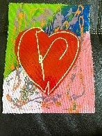Heart Limited Edition Print by Steve Kaufman - 1