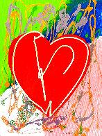 Heart Limited Edition Print by Steve Kaufman - 0
