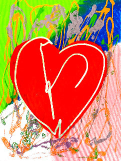 Heart Limited Edition Print - Steve Kaufman