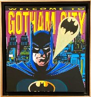 Batman: Welcome to Gotham City AP 1995 Limited Edition Print by Steve Kaufman - 1