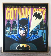 Batman: Welcome to Gotham City AP 1995 Limited Edition Print by Steve Kaufman - 2