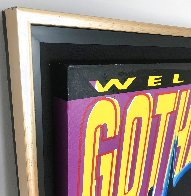 Batman: Welcome to Gotham City AP 1995 Limited Edition Print by Steve Kaufman - 4