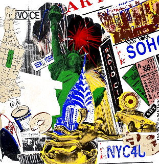 I Love New York City  Limited Edition Print - Steve Kaufman