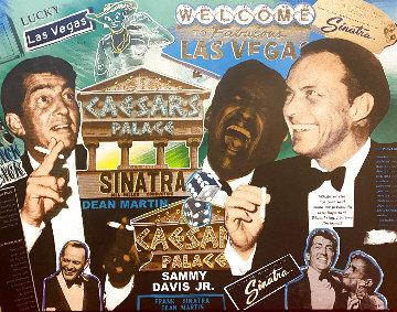 Rat Pack Sands Limited Edition Print - Steve Kaufman