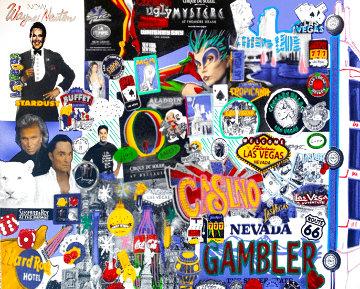 I Love Las Vegas Limited Edition Print - Steve Kaufman