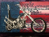 Freedom to Ride Limited Edition Print by Steve Kaufman - 1