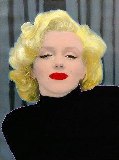 Marilyn Monroe Unique 2001 48x36 Original Painting - Steve Kaufman