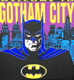 Welcome to Gotham City 1995   Limited Edition Print - Steve Kaufman