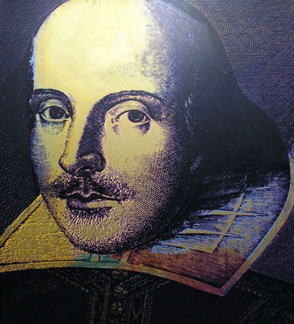 Shakespeare State I 1996 Limited Edition Print by Steve Kaufman