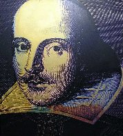 Shakespeare State I 1996 Limited Edition Print by Steve Kaufman - 1