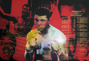 Muhammad Ali, The Greatest Series, State II AP 1996 Embellished Limited Edition Print - Steve Kaufman