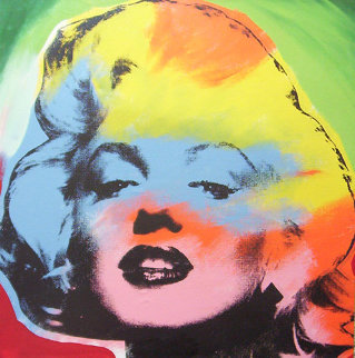 Marilyn Monroe State IV Multicolored 1995 Limited Edition Print by Steve Kaufman