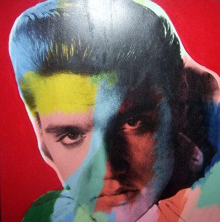 Elvis Presley Series I State II 1996 Limited Edition Print by Steve Kaufman