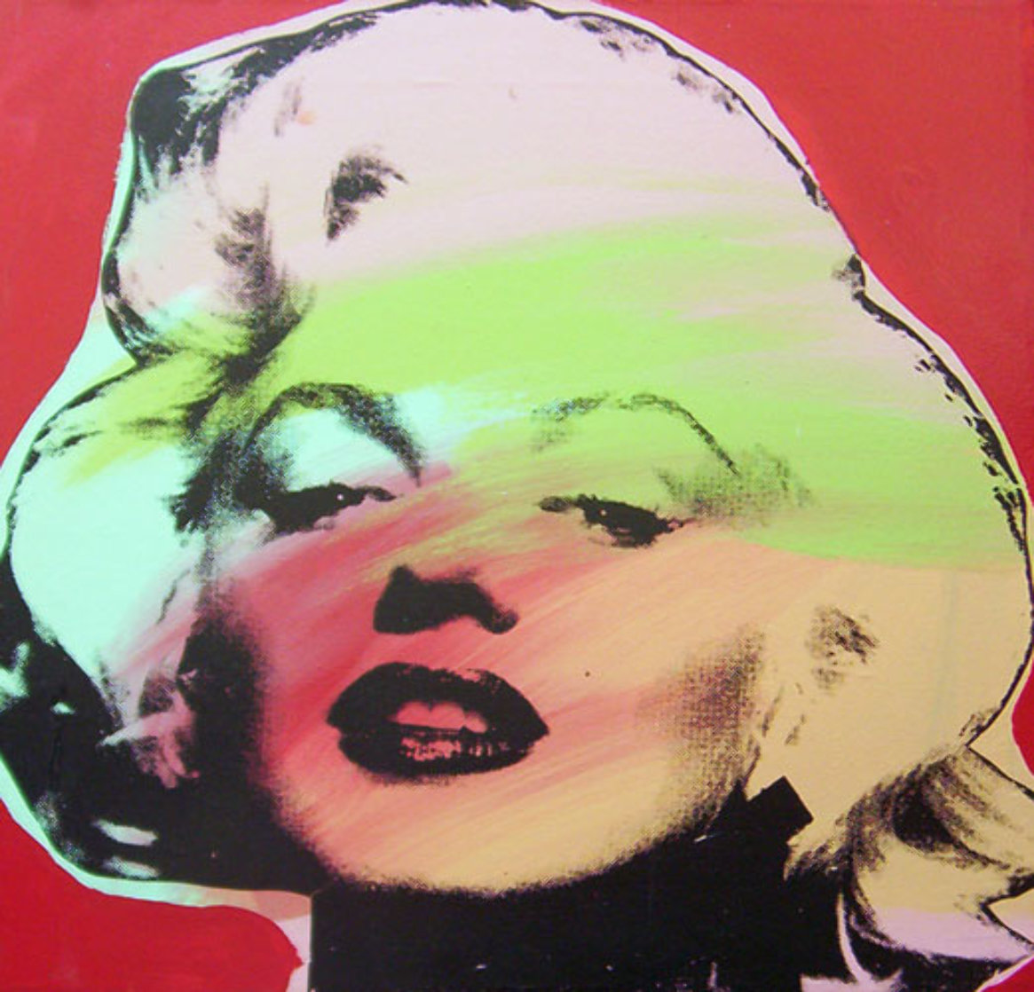 Marilyn Monroe State I Red Background 1995 Limited Edition Print by Steve Kaufman