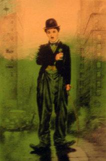 Charlie Chaplin 2004 Limited Edition Print by Steve Kaufman
