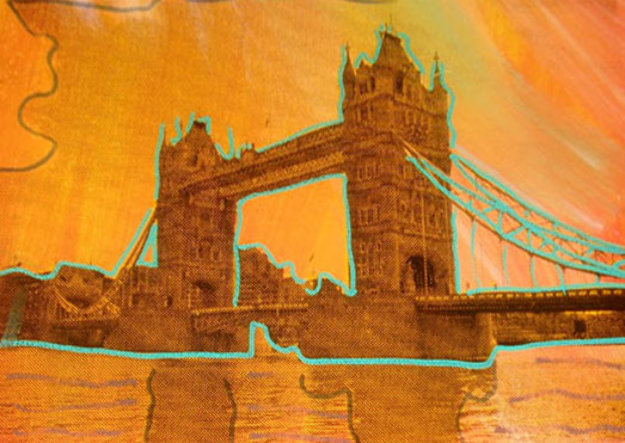 London Bridge Limited Edition Print by Steve Kaufman