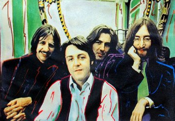 Beatles 19x13 Limited Edition Print - Steve Kaufman