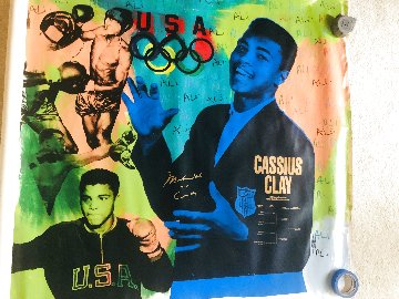 Muhammad Ali Olympic State 1 AP HC by Ali Limited Edition Print by Steve Kaufman