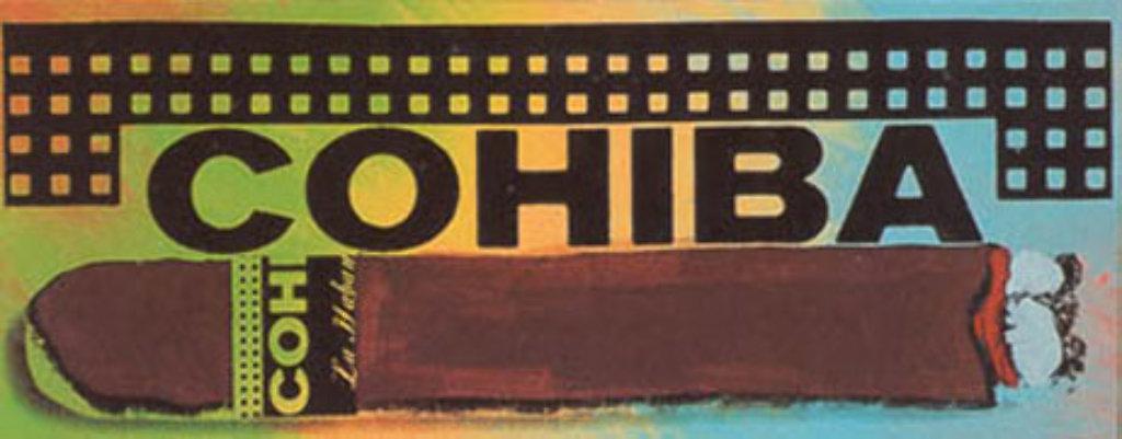 Cohiba, State I & II Set Limited Edition Print by Steve Kaufman