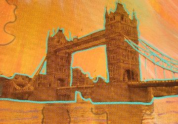 Tower Bridge 2004 Limited Edition Print by Steve Kaufman