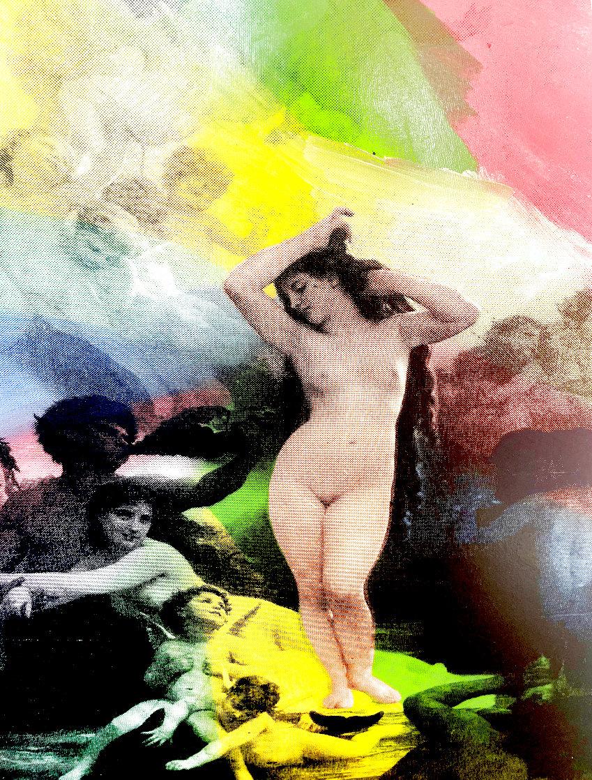 Venus  State II Embellished Limited Edition Print by Steve Kaufman