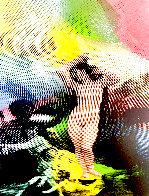 Venus  State II Embellished Limited Edition Print by Steve Kaufman - 0