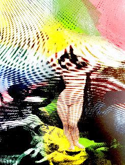 Venus  State II Embellished Limited Edition Print - Steve Kaufman