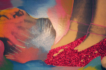 Ruby Slippers Limited Edition Print - Steve Kaufman
