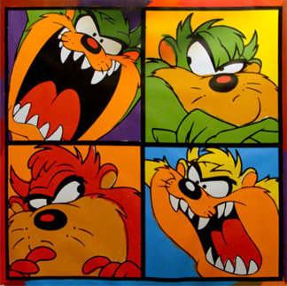 Taz With Attitude Limited Edition Print - Steve Kaufman