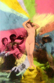 Venus Suite II Embellished - Super Huge Limited Edition Print - Steve Kaufman