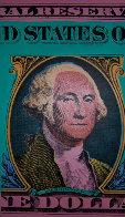 Washington, The Buck Stops Here Limited Edition Print by Steve Kaufman - 0
