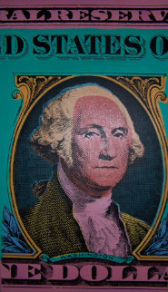 Washington, The Buck Stops Here Limited Edition Print by Steve Kaufman