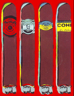 Quatro Cubanos Jojos Limited Edition Print - Steve Kaufman